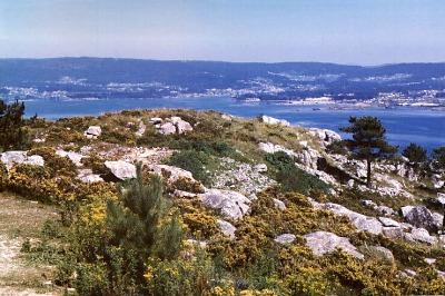 Galicien:  Landenge bei O Grove. Photo: L. Bobke
