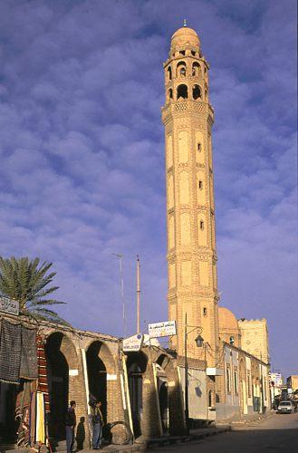 Moschee, Tozeur.