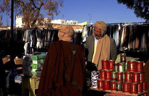 Markttag in Douz